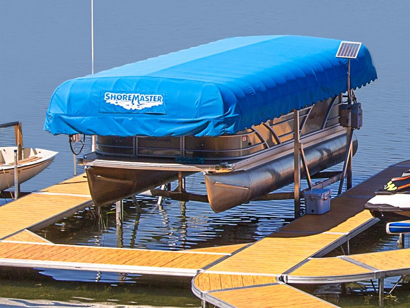 How do you determine what size boat lift you need?