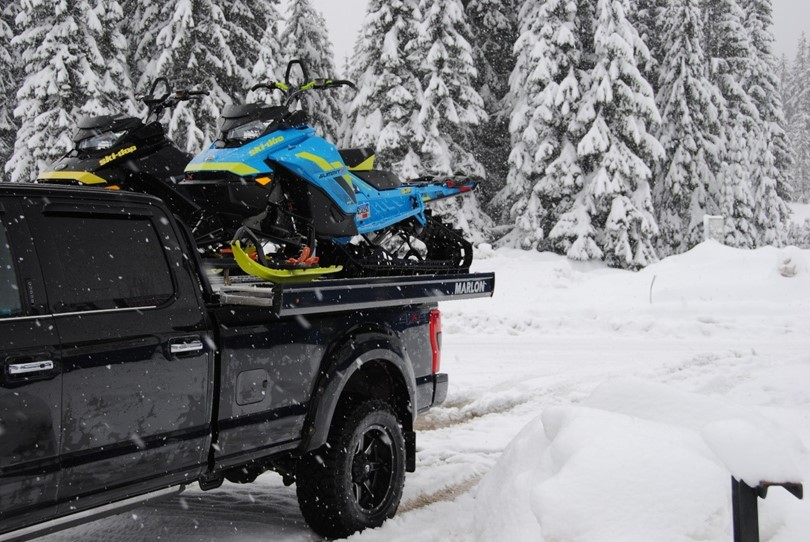 Why buy a sled deck over a sled trailer?